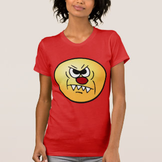 Scary Smiley Face Grumpey T-Shirt
