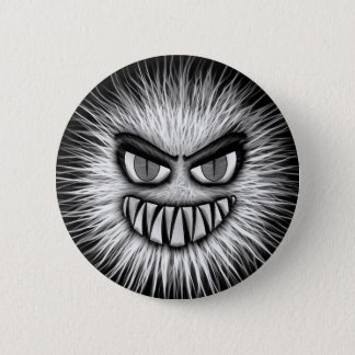 Scary Snowman Button