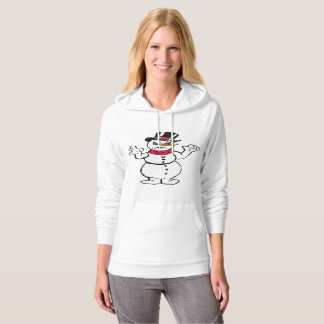 Scary Snowman Woman's Pull Over