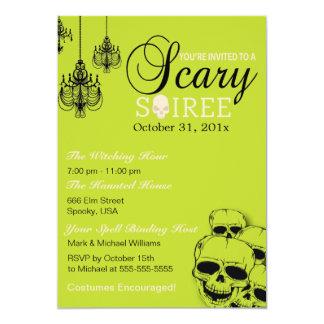 Scary Soiree Halloween Party Invitation