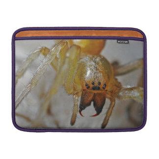 Scary Spider MacBook Sleeves
