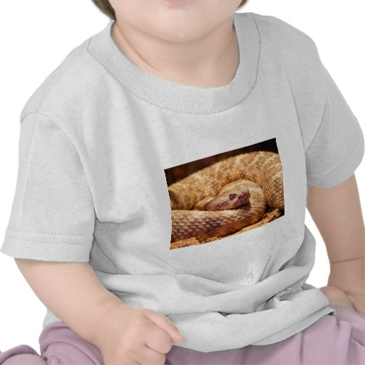 Scary Spotted Rattlesnake T-shirts