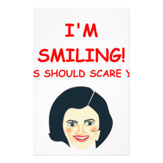 scary stationery paper