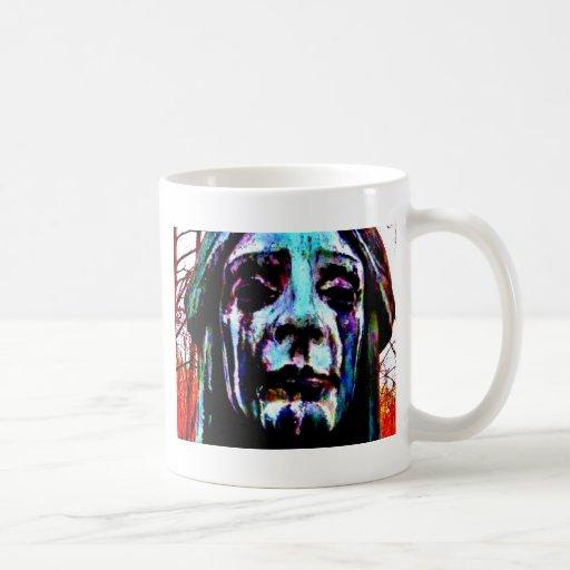 Scary Statue Classic White Coffee Mug