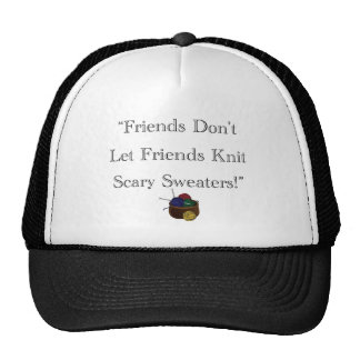 Scary Sweaters! Trucker Hat