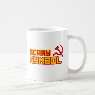 Scary Symbol Hammer and Sickle Coffee Mug