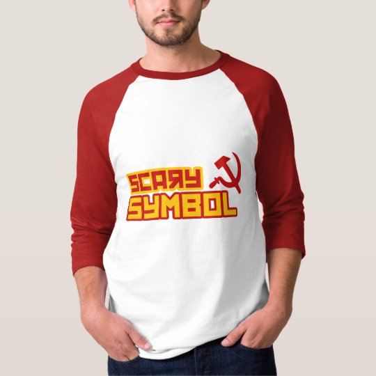 Scary Symbol Hammer and Sickle T-Shirt