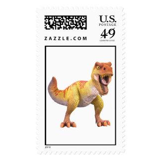 Scary T-Rex Disney Postage Stamp
