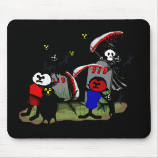 Scary Toons Mouse Pad