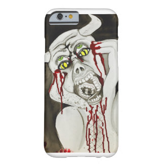 Scary tormented possessed soul demon watercolour barely there iPhone 6 case