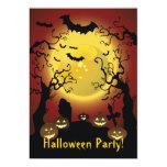 """Scary Trees Halloween Party Invitation 5"""" X 7"""" Invitation Card"""