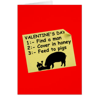 Scary Valentine's day Greeting Card