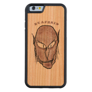 Scary Vampire Drawing Carved Cherry iPhone 6 Bumper Case