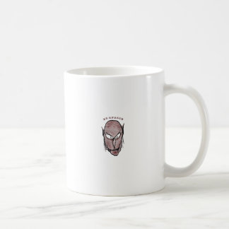 Scary Vampire Drawing Coffee Mug