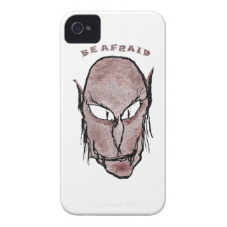 Scary Vampire Drawing iPhone 4 Case-Mate Case