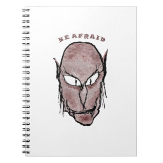 Scary Vampire Drawing Notebook