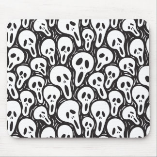 Scary wallpaper mouse pad
