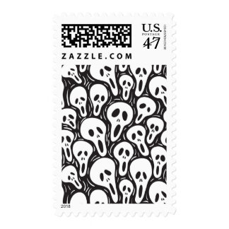 Scary wallpaper stamp