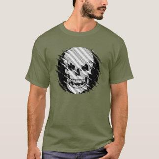 Scary Wavey Skull T-Shirt