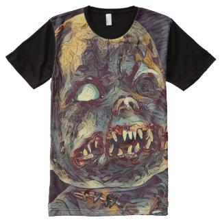 Scary Zombie Doll Horror Dark Art All-Over-Print T-Shirt