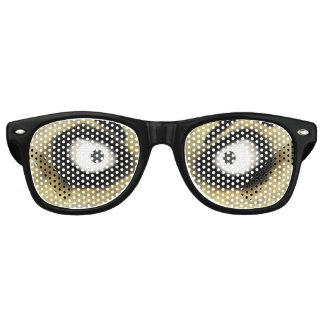 Scary Zombie Eyes Retro Sunglasses