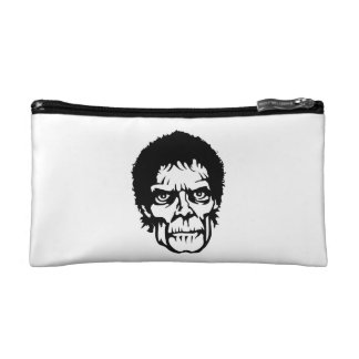 Scary Zombie Monster Face Makeup Bags