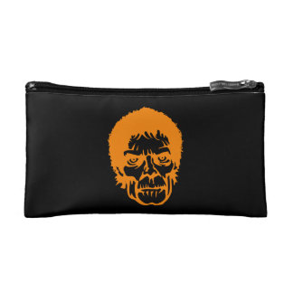 Scary Zombie Monster Face Cosmetics Bags