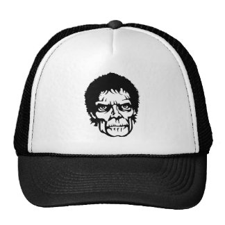 Scary Zombie Monster Face Trucker Hat
