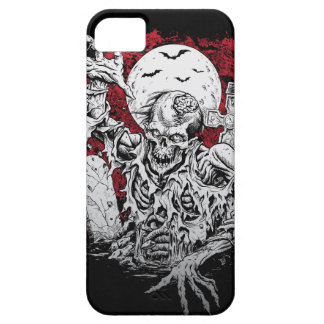 Scary Zombie Rising From Grave I Phone 5 Case