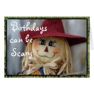 ScaryBday-personalizar 4 cualquier ocasión Tarjeta De Felicitación