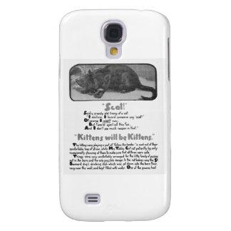 Scat! Cat Poem and Artwork Samsung Galaxy S4 Case