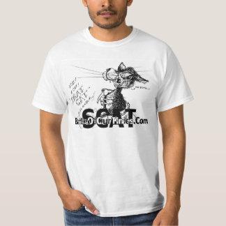 Scat Drat Cat   #jWe   BattleOfOurTimes.Com T-Shirt