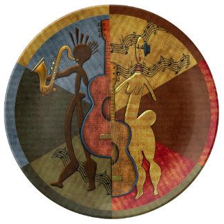 Scat Masters (Jazz Series Pt. 6) Plate