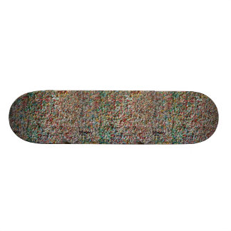 scateboard step ON many chewing gum Skateboard Deck