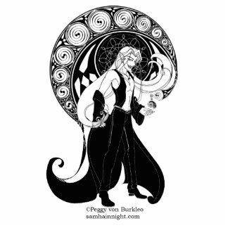 Scath Summons a Celtic Shadow Photosculpture Cutout