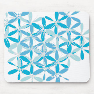 Scatter Blue Pattern Mouse Pad