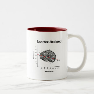 Scatter-Brained Two-Tone Coffee Mug