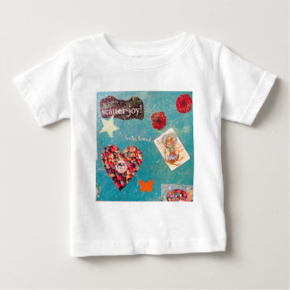 Scatter Joy! Glitter Collage Decorates Things Baby T-Shirt