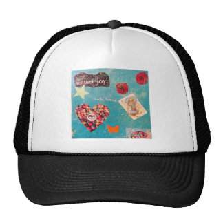 Scatter Joy! Glitter Collage Decorates Things Trucker Hat
