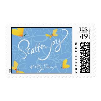 Scatter Joy with Kathy Davis Postage
