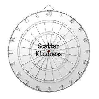 Scatter Kindness Dartboard With Darts