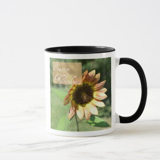 Scatter Kindness Sunflower Coffee Cup
