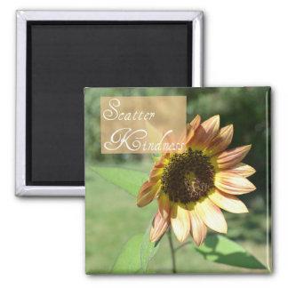 Scatter Kindness Sunflower Magnet