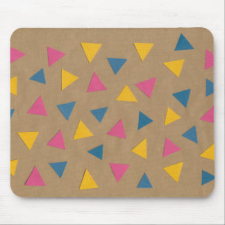 Scatter Triangle Pattern Mouse Pad