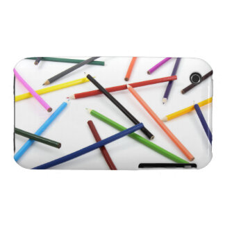 Scattered Colored Pencil Case-mate Case