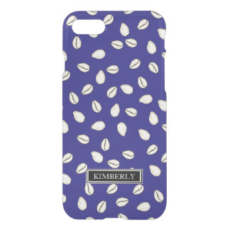 Scattered Cowrie Shells Custom Name iPhone 7 Case