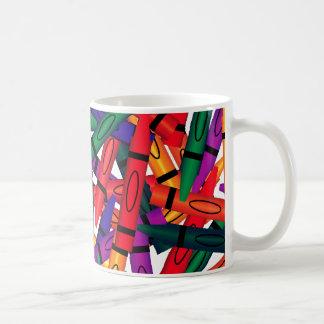 Scattered Crayons Mug
