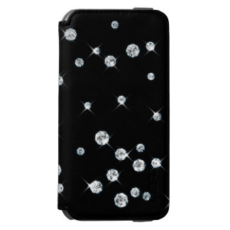 Scattered Diamonds iPhone Wallet