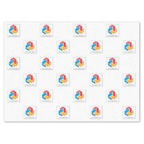 Scattered Logo Tissue Paper