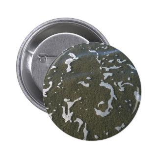 Scattered Ocean Sea Foam Button